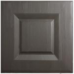 open grain dark grey replacement kitchen door