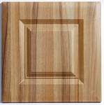 tiepolo light walnut kitchen door
