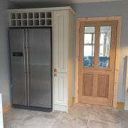 built in fridge
